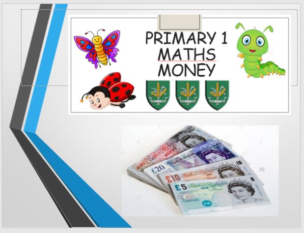 Maths money ppt bank notes image