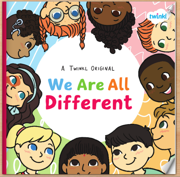 We are all different book image