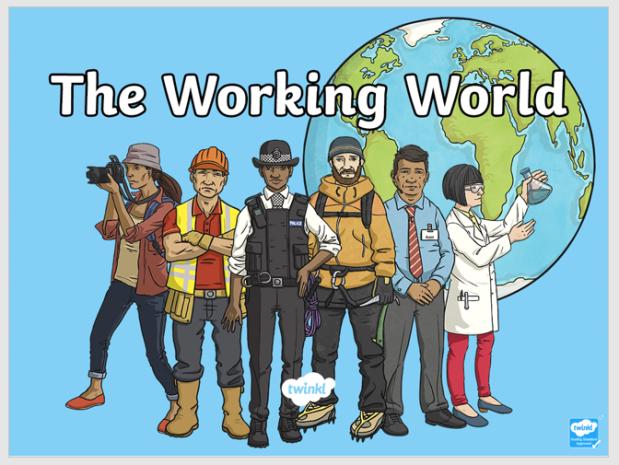 world of work ppt image